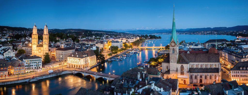 Suiza viaje fin de semana Navidad