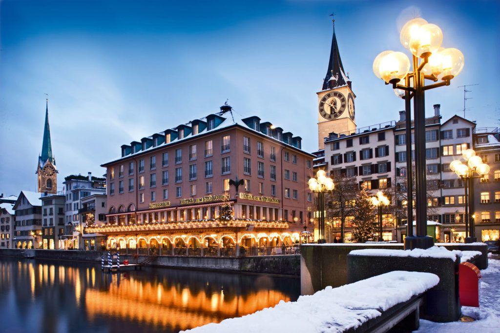 Suiza fin de semana viaje Navidad mercadillo