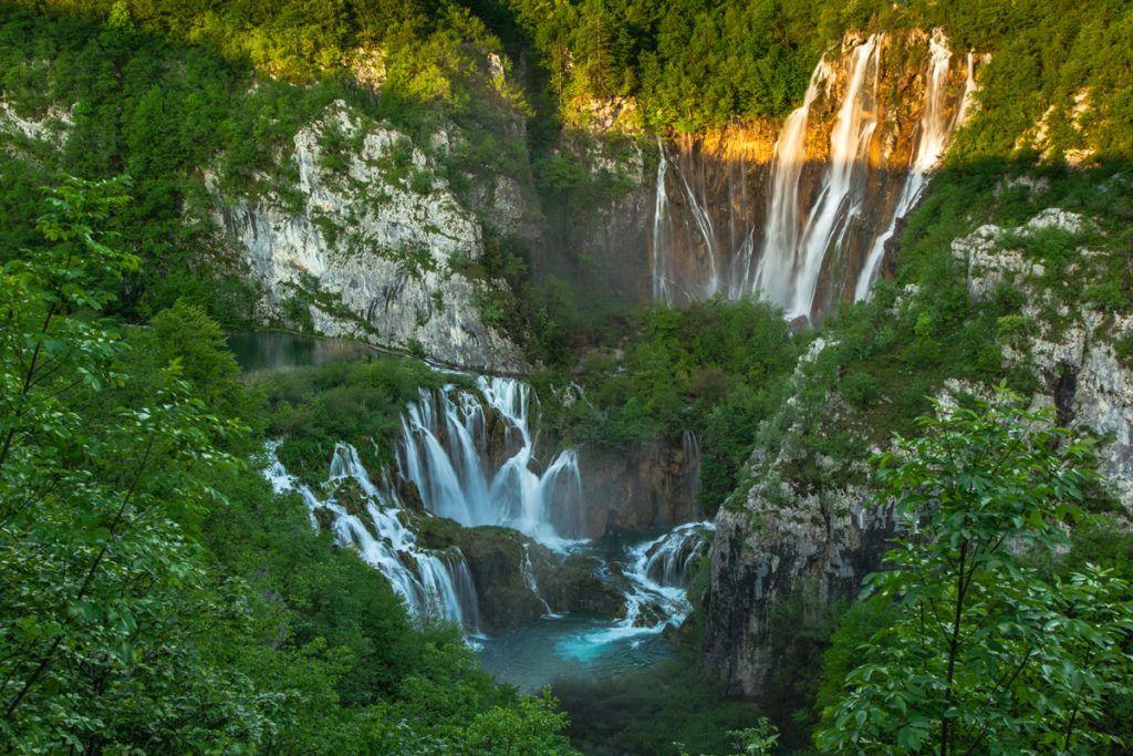 parque lagos de plitvice, viaje a croacia