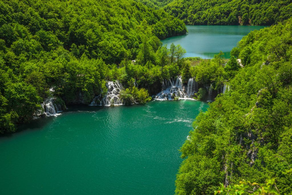 parque nacional lagos plitvice, viaje croacia