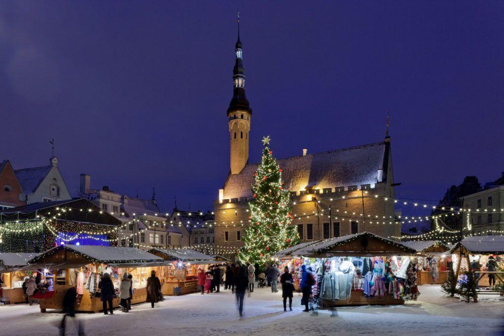 Mercado Navidad Estonia Viaje