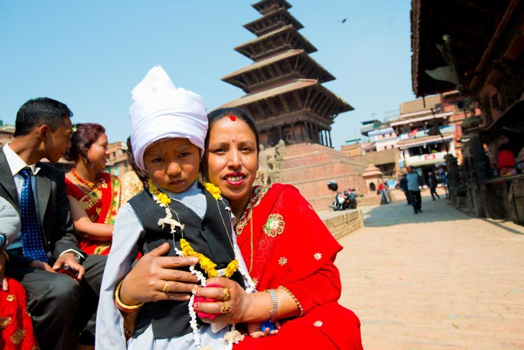 bhaktapur viaje mujeres a nepal