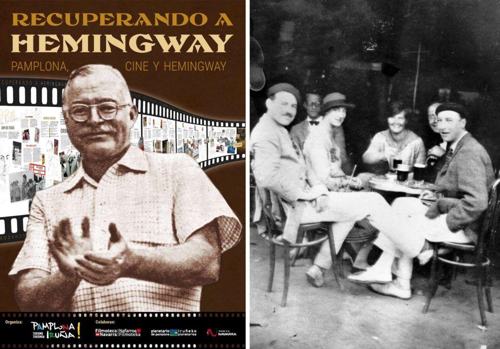 Hemingway en Pamplona Iruña, festival de cine recuperando a hemingway