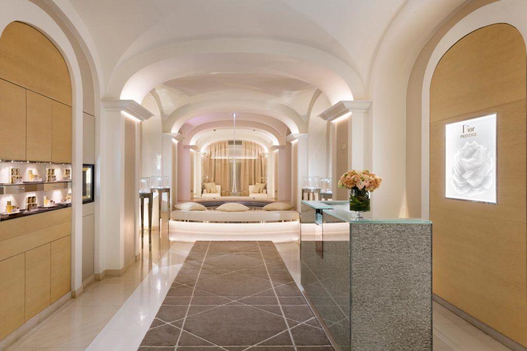 instituto dior, hotel lujo paris, centro belleza paris, plaza athenee