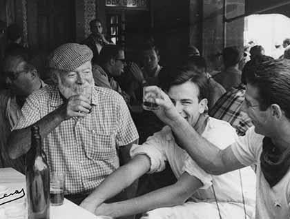 Hemingway en Pamplona Iruña
