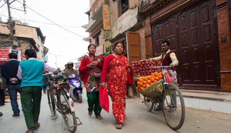 Calles de Katmandú. ©P.G.