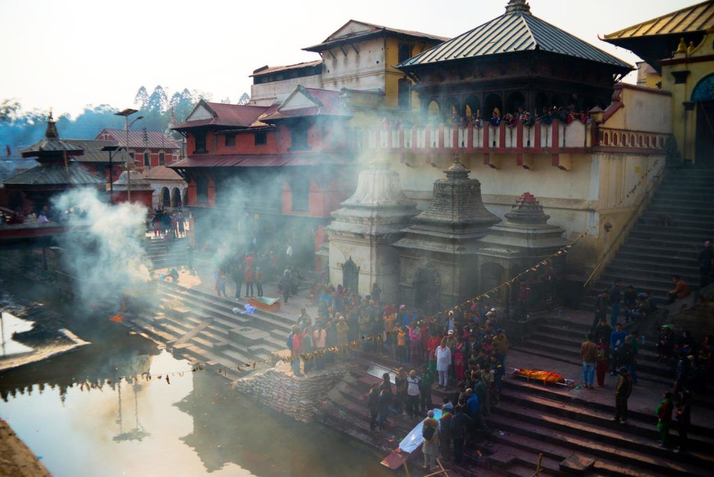 Pashupatinath, viaje mujeres nepal