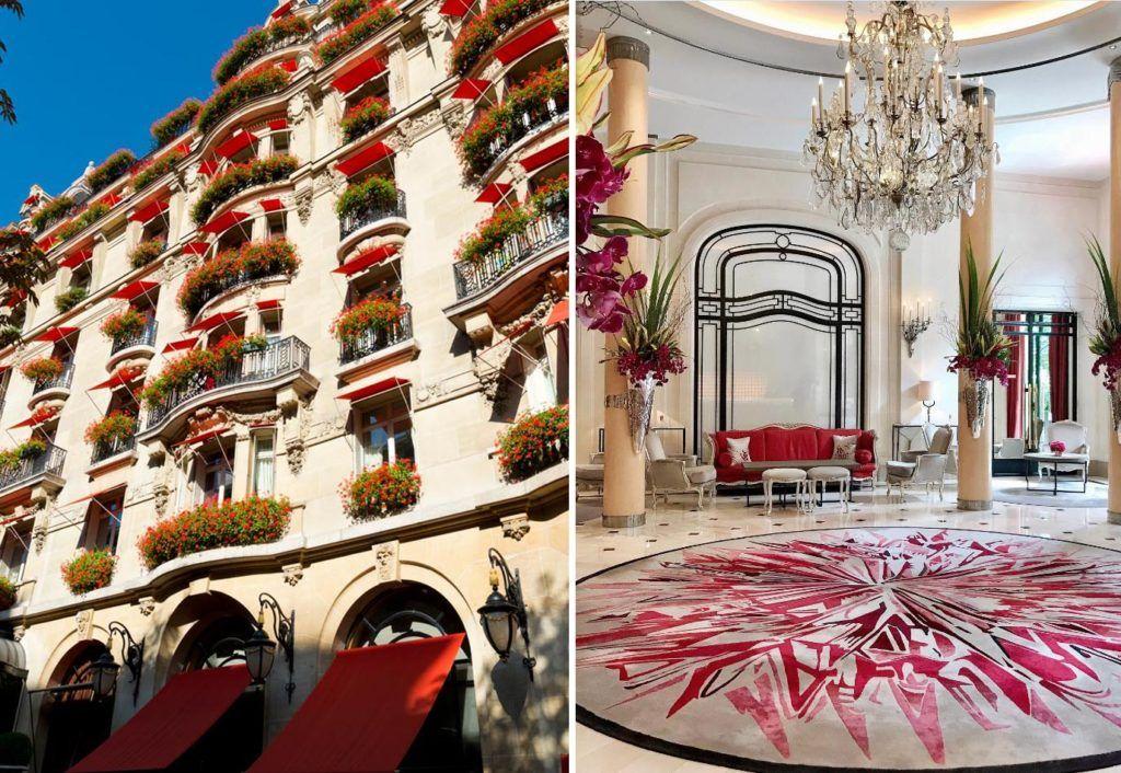 hotel de lujo en paris, mejor hotel paris, hoteles dorchester, hotel plaza athenee