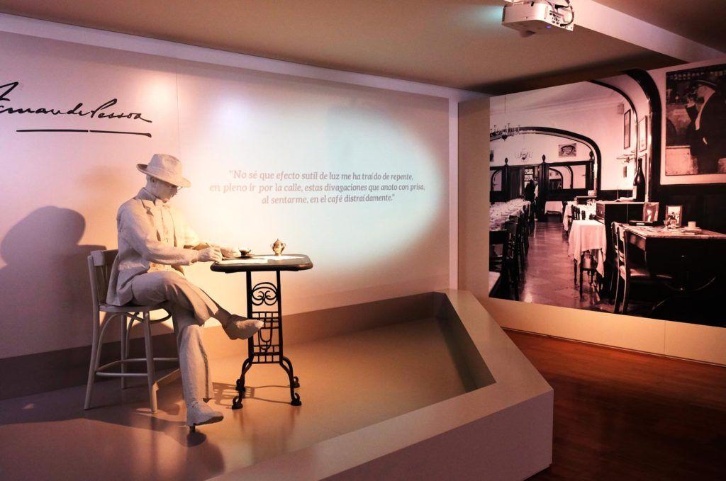 museo de cafe alentejo, pessoa y el cafe, viaje mujeres alentejo
