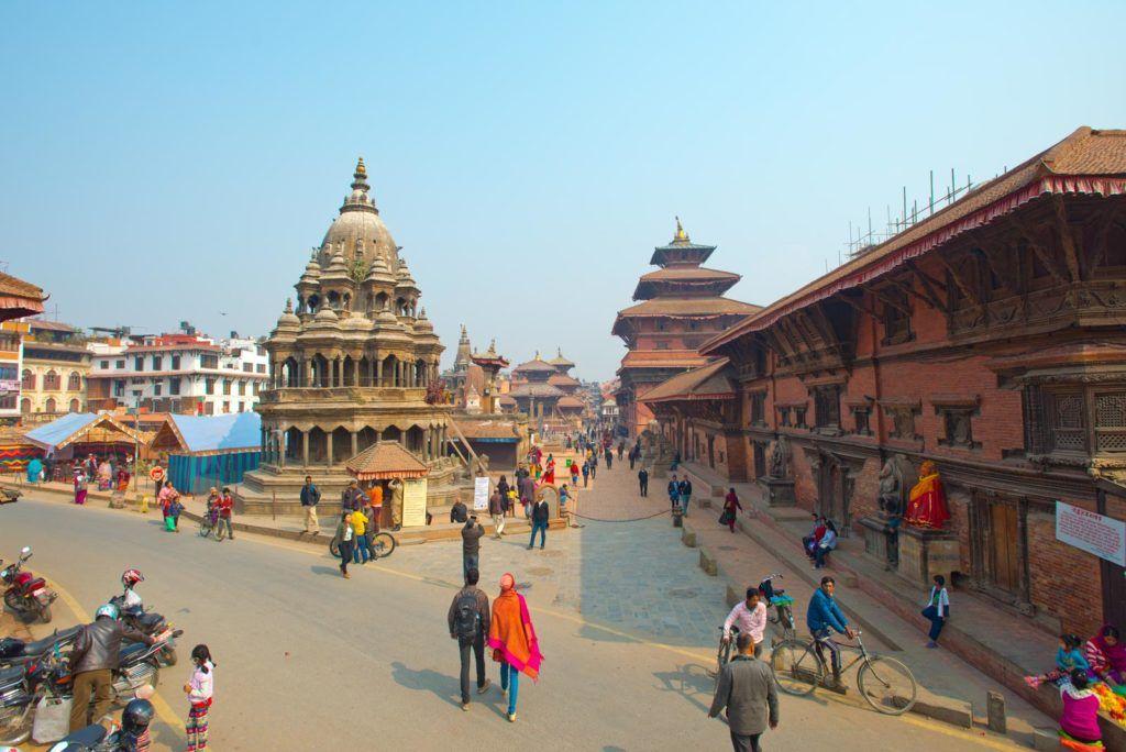 Plaza Durbar de Patan, viaje a nepal