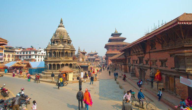 Plaza Durbar de Patan (Nepal). ©P.G.