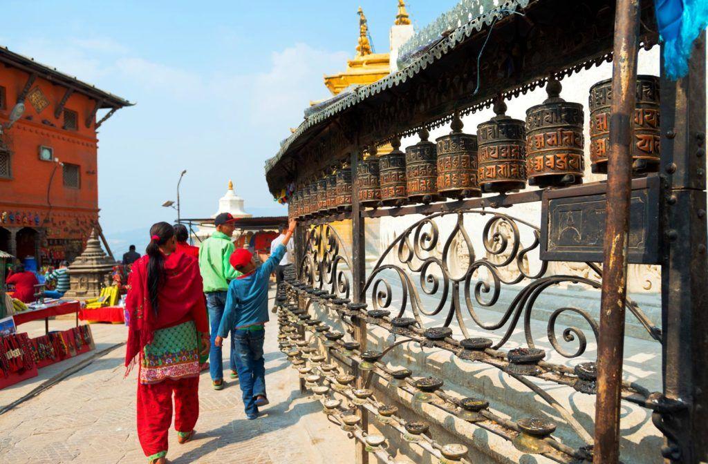 Swayambhunath, katmandu nepal, viaje mujeres nepal