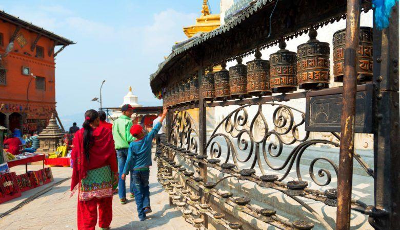 Swayambhunath o templo de los Monos. ©P.G.