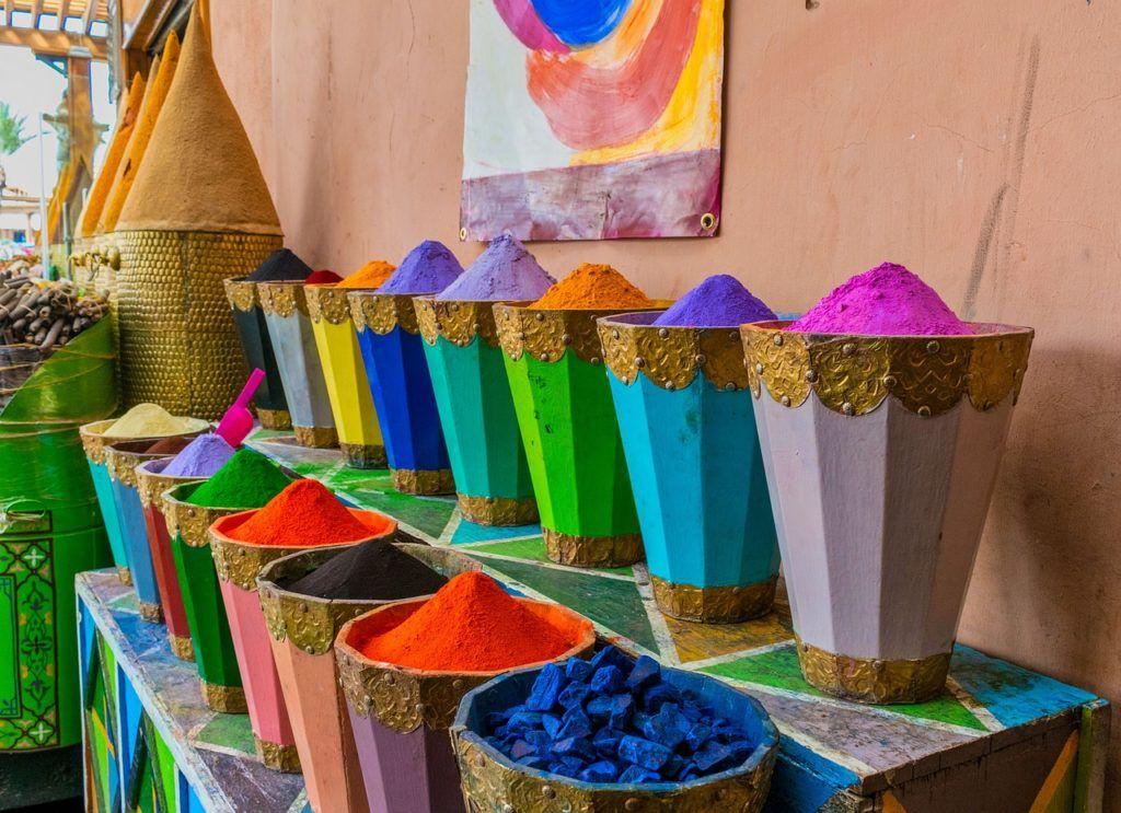 especias de marrakech, zocos marrakech