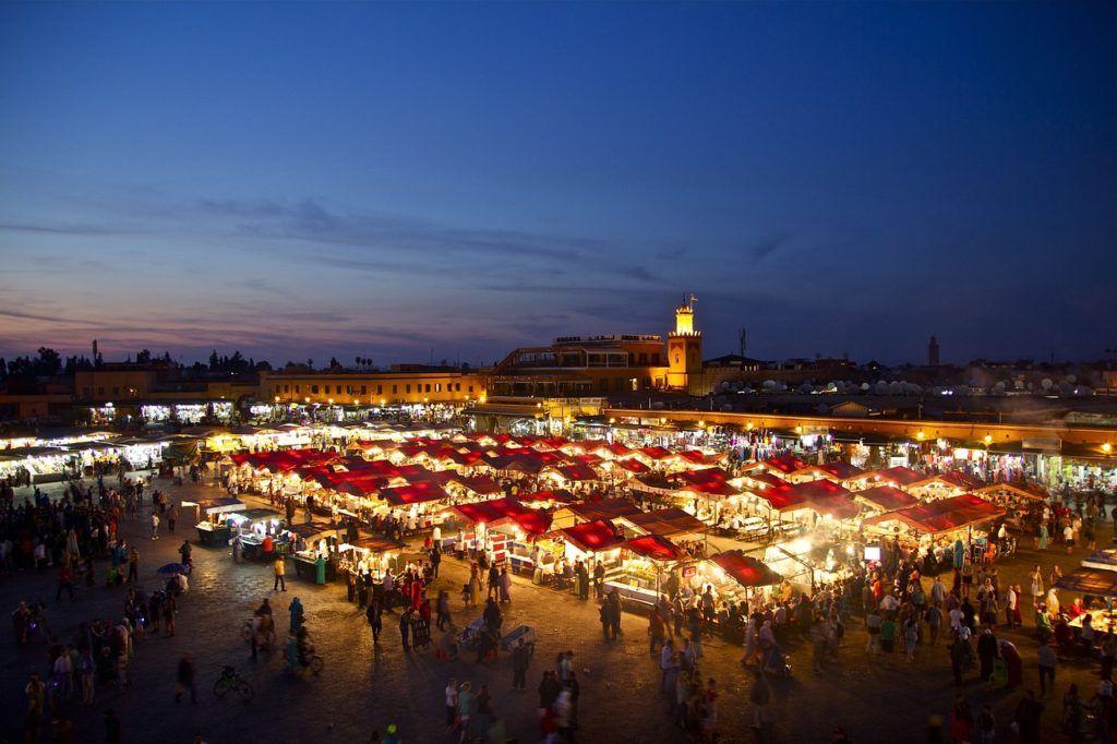 jemaa el fna, viaje mujeres a marrakech, que ver en marrakech