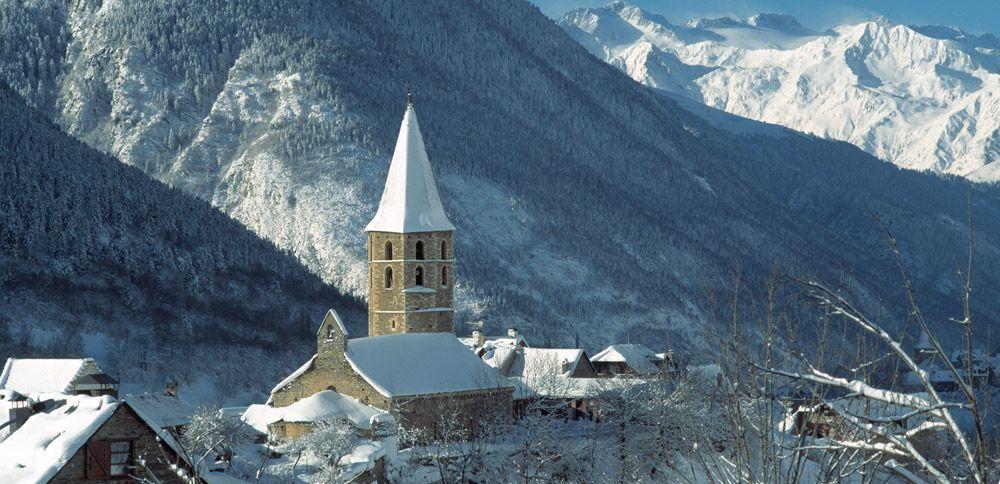 romanico valle de aran, nieve sin esquiar, que hacer en la nieva si no esquias
