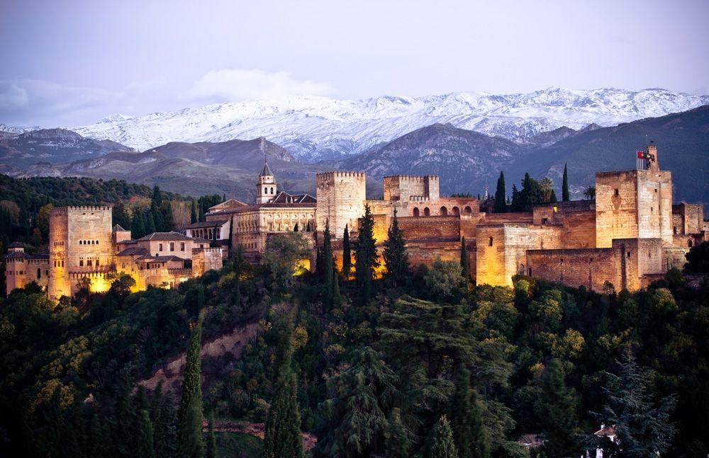 visitas desde Sierra Nevada, la alhambra si no esquias