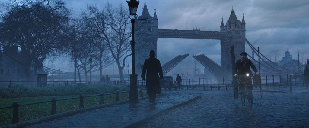 viaje de cine, ruta Mary Poppins en londres, puente de londres