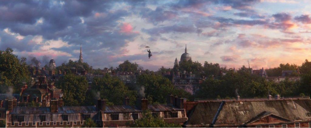 viaje de cine, ruta Mary Poppins en londres, Saint Paul