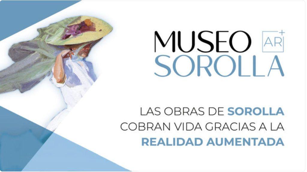 museo sorolla, app realidad aumentada