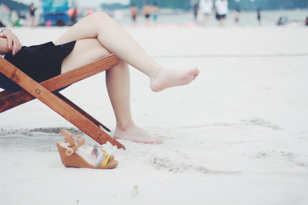viajar sola a la playa