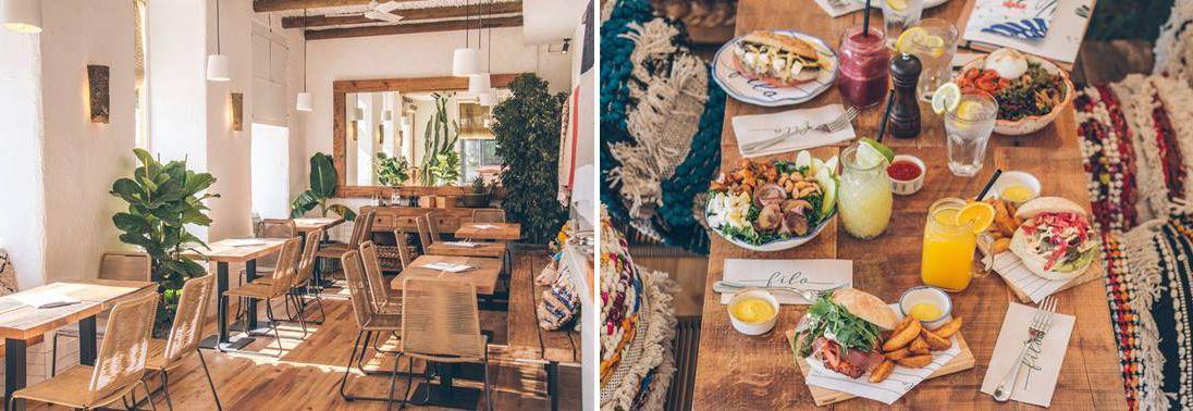 viaje con amigas sevilla, restaurante filo sevilla