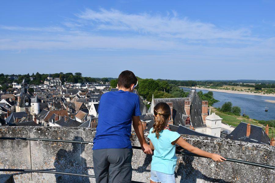Vistas desde el Castillo de Amboise.