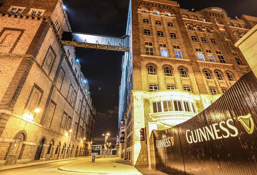 fabrica guinness dublin, cerveza en irlanda