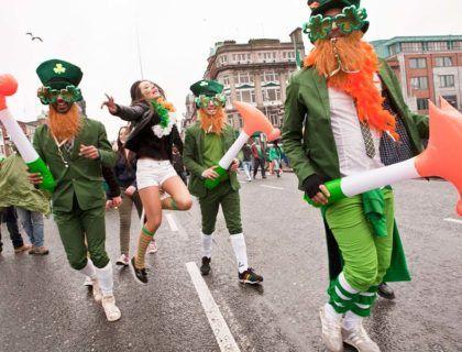 Desfile de san patricio, fiestas en dublin