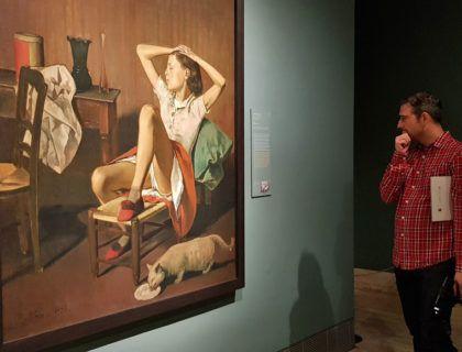 therese sonando, escandalo de balthus, exposiciones museo thyssen