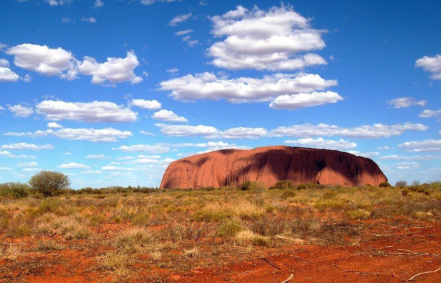 Monte Uluru, viaje australia