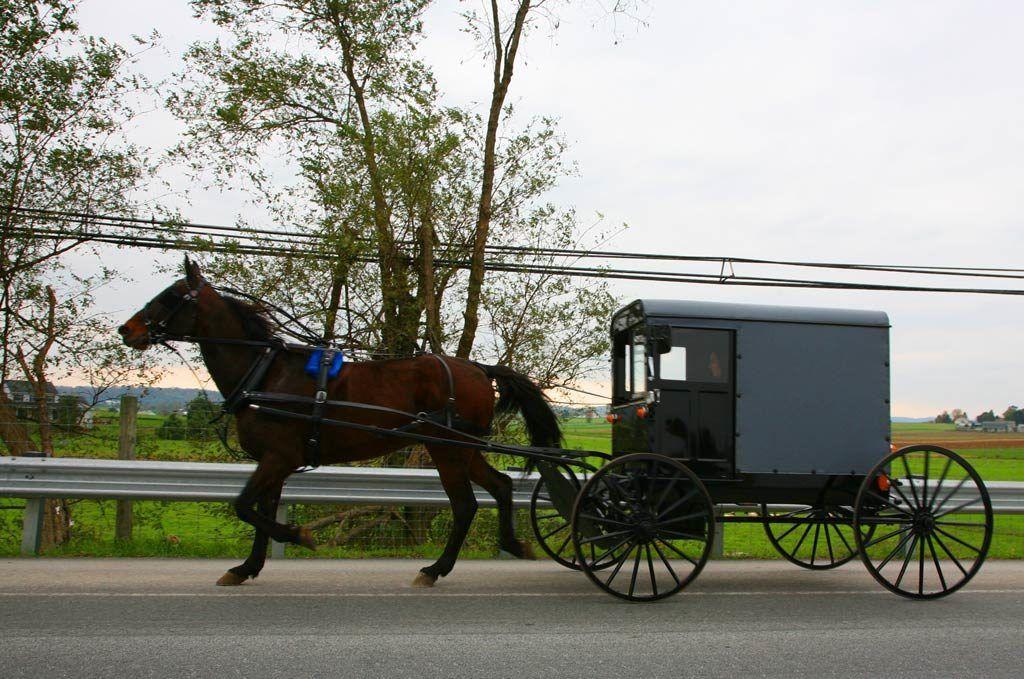 mujeres amish, viaje a pensilvania