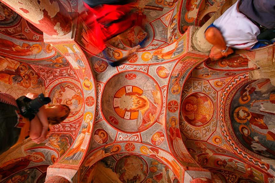 iglesia Sandal, museo al aire libre de Goreme, viaje capadocia