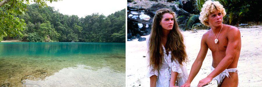 viajes de cine, pelicula el lago azul