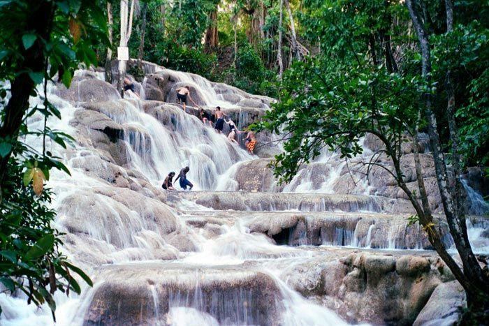 las cascadas del Río Dunn