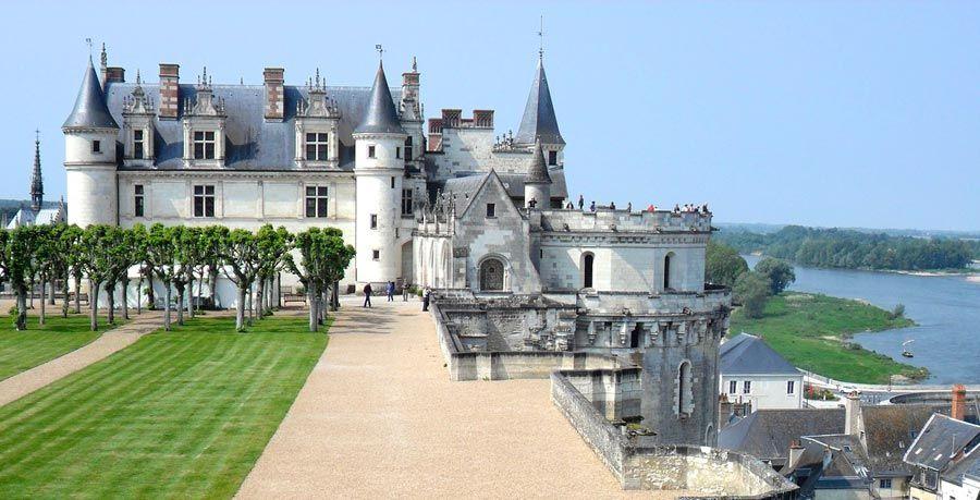 chateau amboise, ruta coche loira