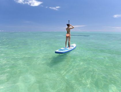 deportes agua isla mauricio, paddle sur isla mauricio
