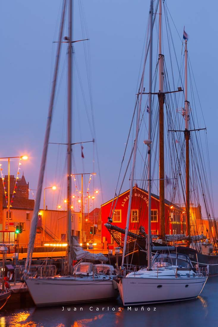 puerto lerwick, islas shetland, viaje escocia
