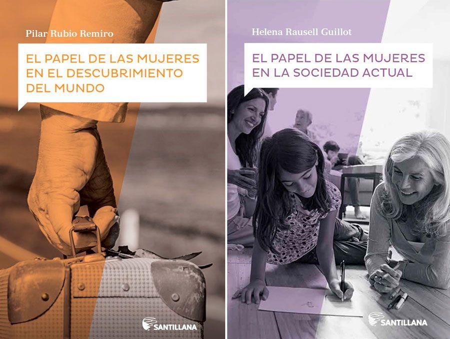 mujeres en la historia, libros de mujeres, mujeres santillana