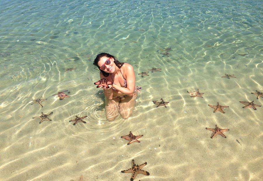 vanessa garrido, viaje filipinas, starfish island, palawan