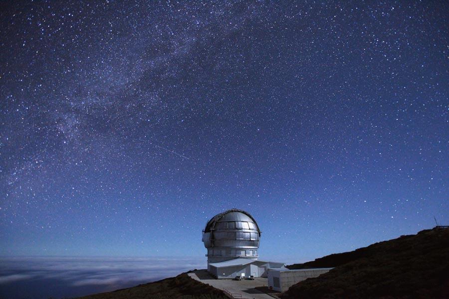 gran telescopio canaras, estrellas la palma, astroturismo