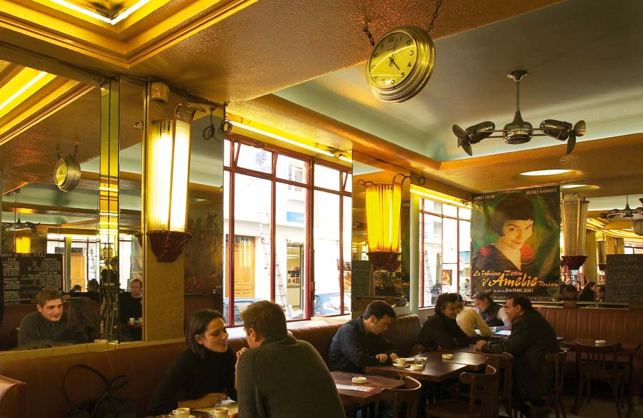 Cafe des Deux Moulins, viajes paris, cafe de amelie