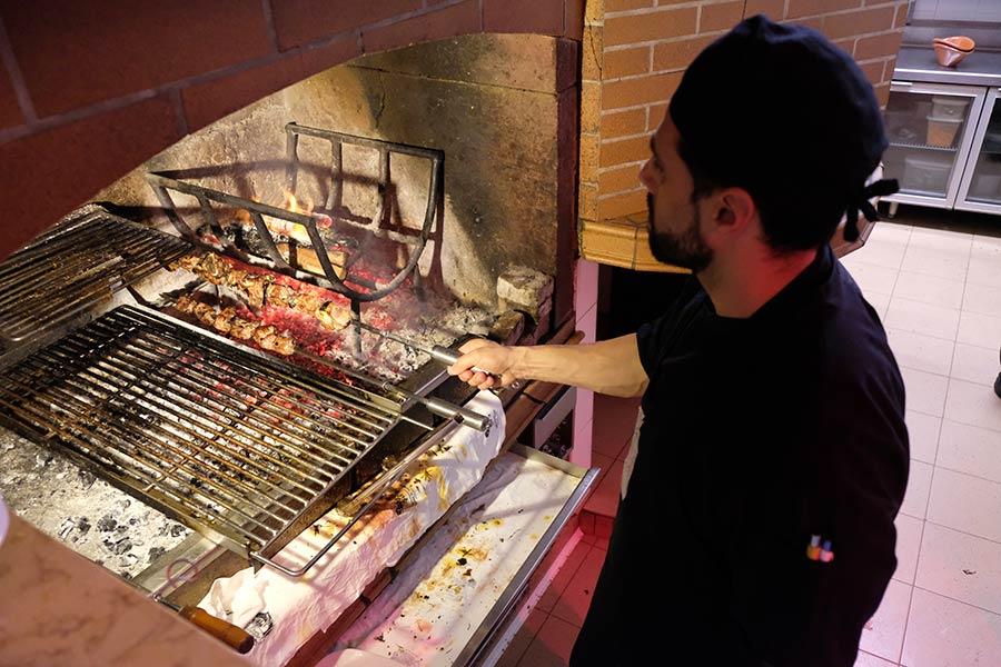 Espetada en Chalet Vicente Restaurant