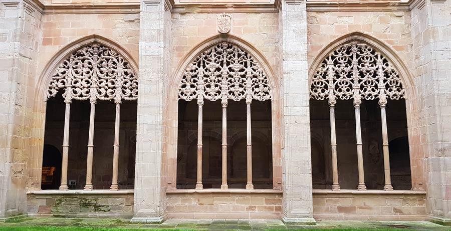 monasterio santa maria la real najera en camino santiago