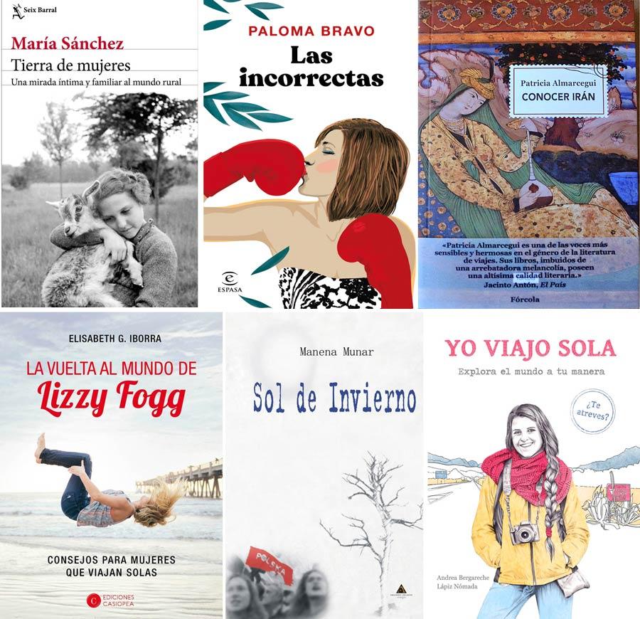 libros de viajes, libros de mujeres