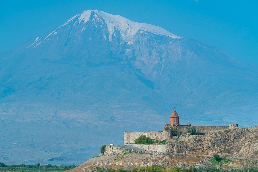 viaje armenia, Mount Ararat, Khor Virap Monastery, Ararat Province, Armenia, Middle East