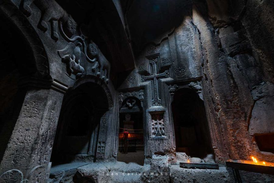 Ereván, Geghard Monastery, Kotayk Province, Armenia, Middle East, UNESCO World Heritage Site