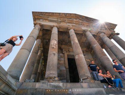 Garni Temple, Garni City, Kotayk Province, Armenia, Middle East
