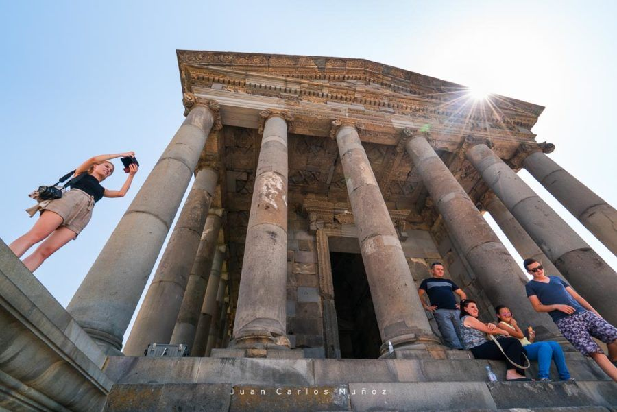 viaje Armenia, Garni Temple, Garni City, Kotayk Province, Armenia, Middle East