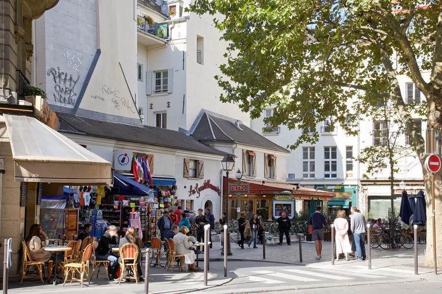 Place Saint Andre des Arts